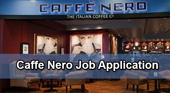 Caffe nero job application