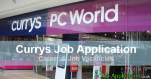 Currys job application