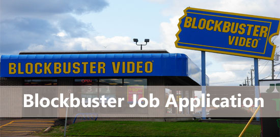 blockbuster job application