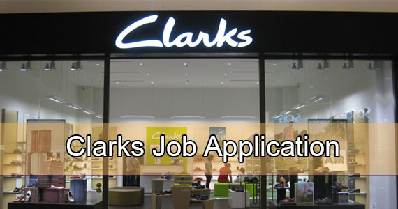 clarks job application