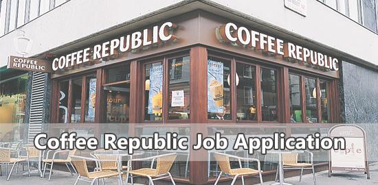 Coffee Republic Job Application