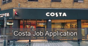 costa job application