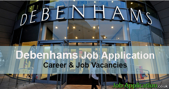 debenhams job application