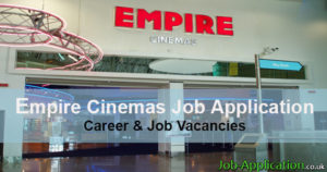 Empire Cinemas Job Application