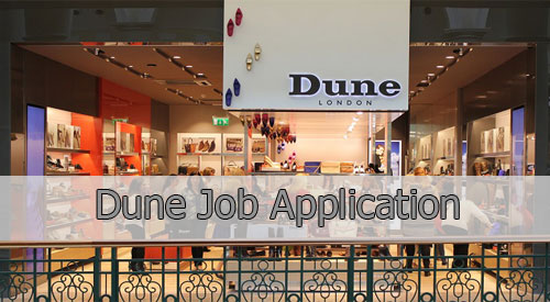 Dune Application Online & PDF 2021