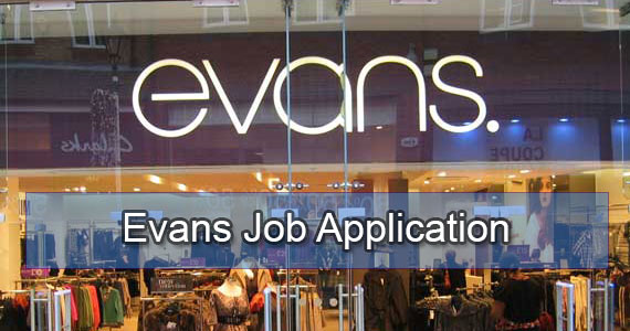 evans job application