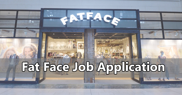 fat face job application