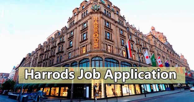 Harrods Job Application