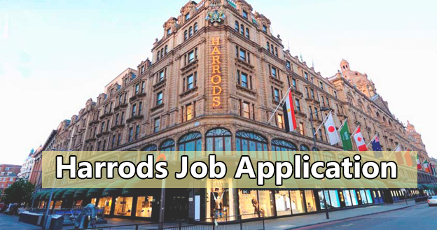 Harrods Job Application