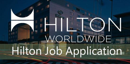 hilton job application