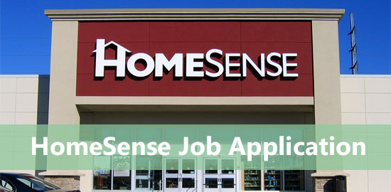 homesense job application