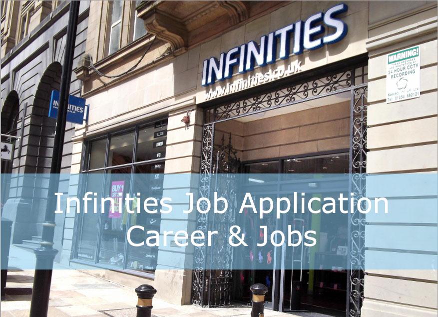 infinities job application