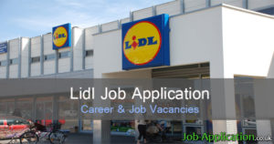lidl job application