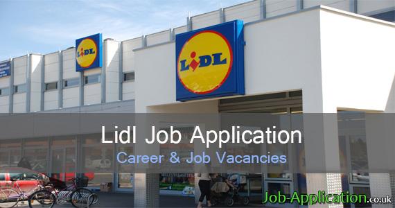 Lidl Application Online & PDF 2021