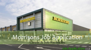 Morrisons job application