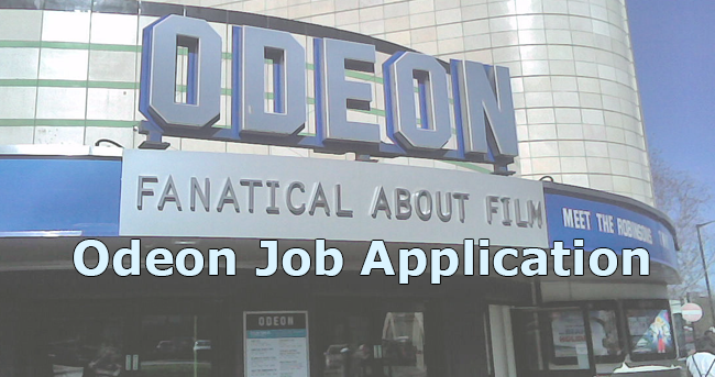 odeon job application