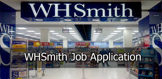 WHSmith Job Application