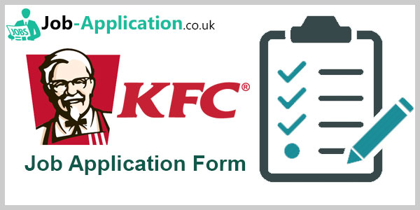 KFC Job Application Form