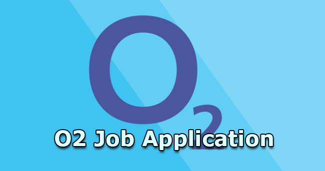 o2 job application