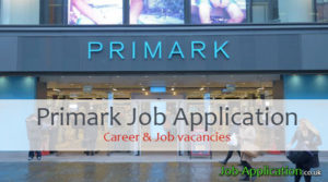 primark job application