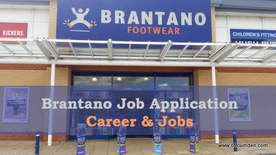 Brantano Job Application Form 2021