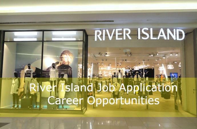 River Island job application