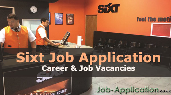 Sixt job application