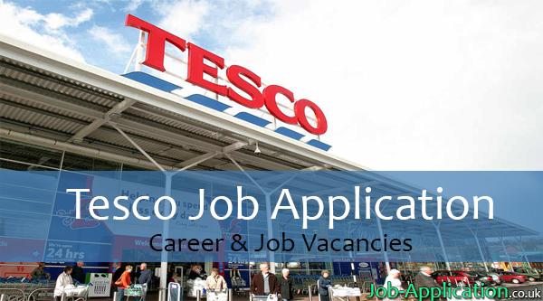 Tesco job application