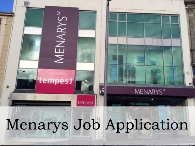 menarys job application