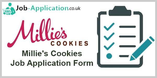 Millie's Cookies Application Online & PDF 2021