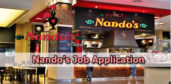 Nando's Job Application