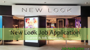 new look job application