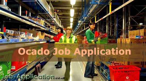 Ocado Job Application Form 2020