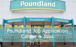 Poundland job application