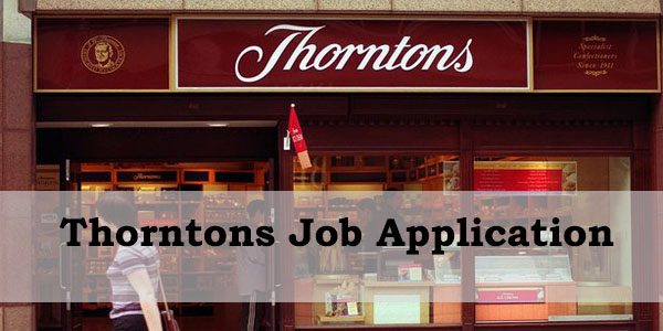 thorntons job application