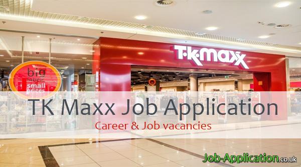 TK Maxx job application