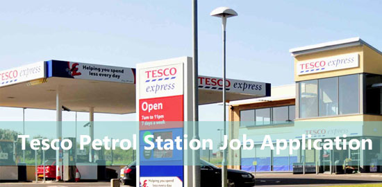 Tesco Petrol Station Job Application