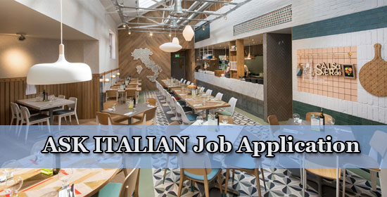 ask italian job application