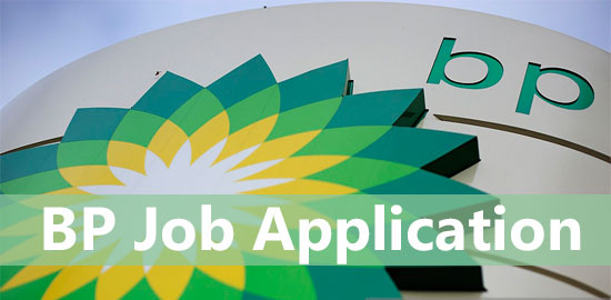 BP Job application