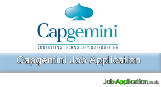 capgemini job application