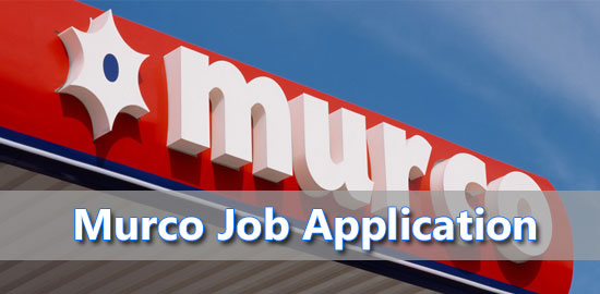 Murco Job Application Form 2021
