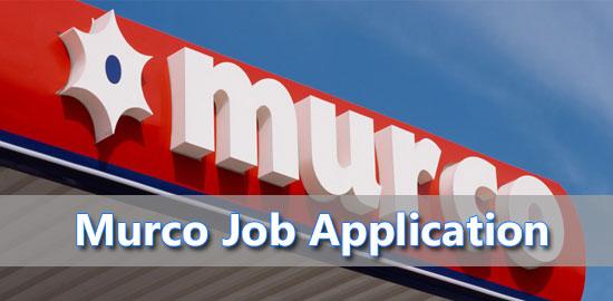 murco job application