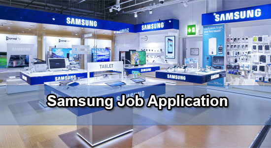 Samsung Application Online & PDF 2021