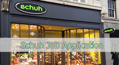 schuh job application