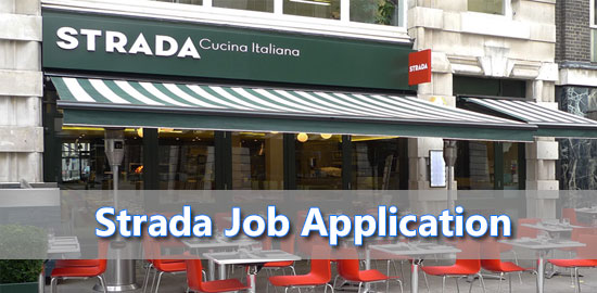 Strada Job Application Form 2021