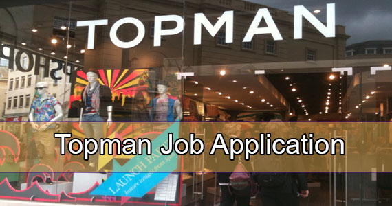 Topman job application