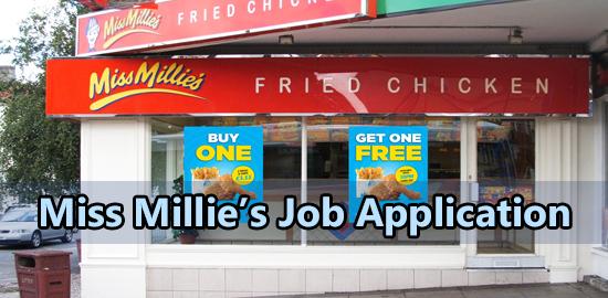 Miss Millie's Job Application