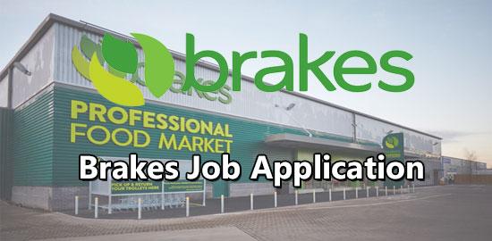Brakes job application