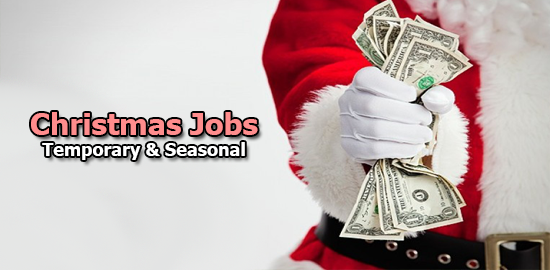 christmas jobs temporary & seasonal