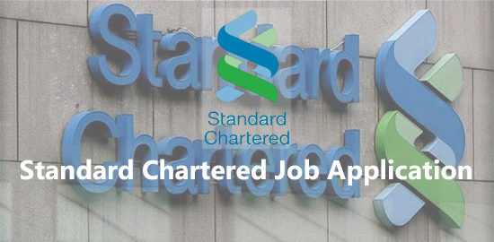 Standard Chartered Job Application Form 2020